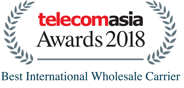 Telecomasia Awards 2018 Best International Wholesale Carrier